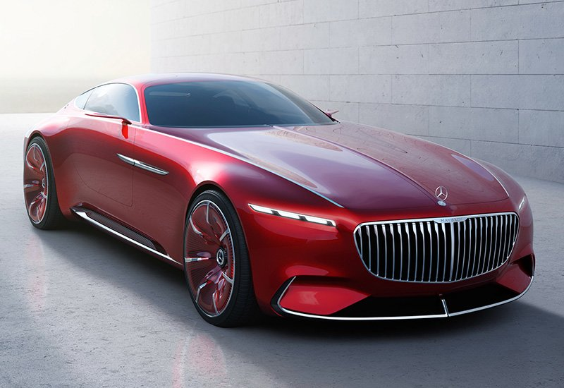 Mercedes-Maybach 6 Vision Concept