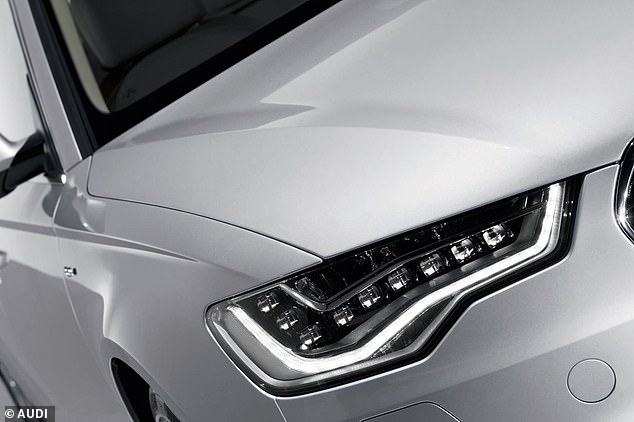 Light confusion: Drivers of modern cars with front daytime running lights like these are unaware that their vehicle doesn