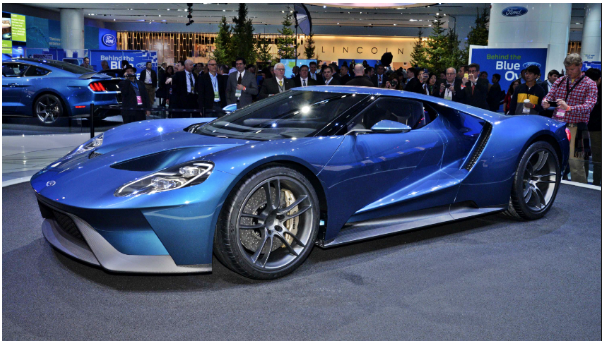 North American International Auto Show (NAIAS) 2018: Ford GT Unveiled