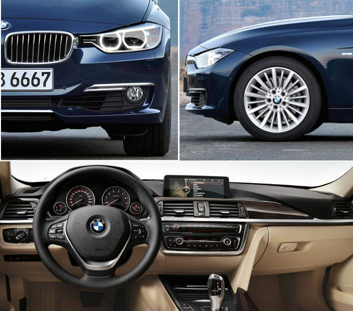 BMW F30 Sedan Sport Line - overview