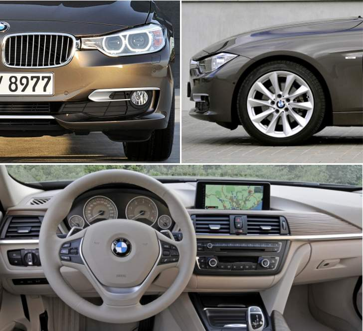 BMW F30 Sedan Modern Line - overview
